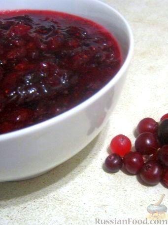 Рецепт Клюква с сахаром