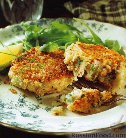 Рецепт Котлеты из рыбы и картофеля