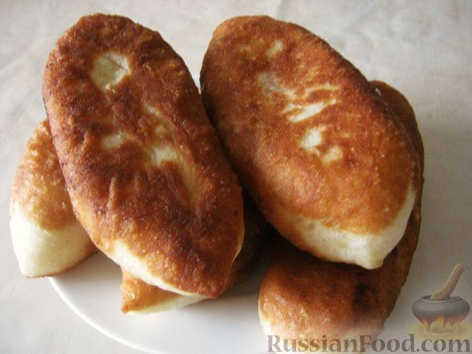 Рецепт Жареные пирожки с картошкой (постные)