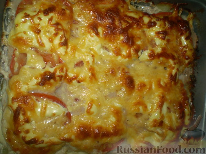запеканка мясная в духовке с картошкой