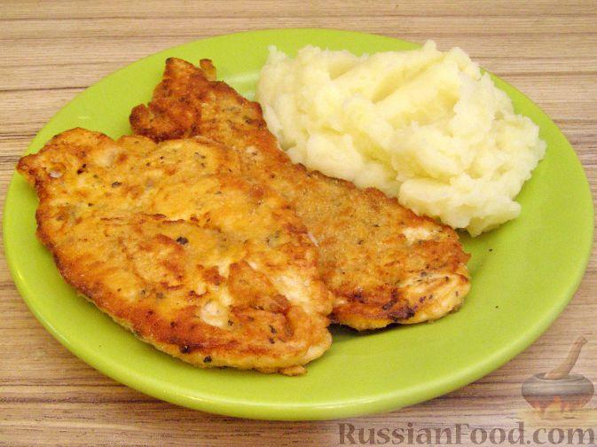 Рецепт Куриное филе в томатно-сливочном льезоне