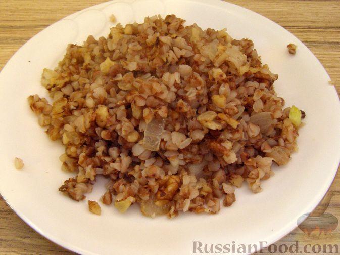 Рецепт Гречневая каша с орехами