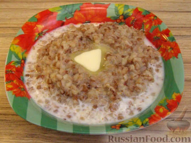Рецепт Каша гречневая с яблоком
