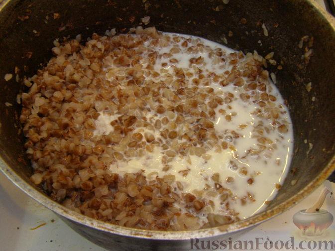 Гречневая каша на молоке рецепт с фото