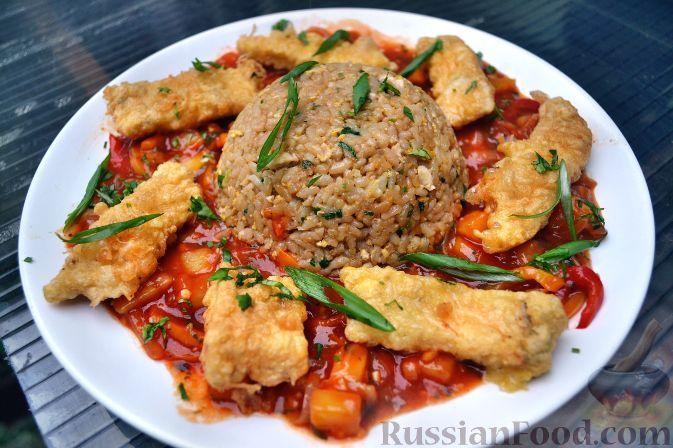 Рецепт Камбала по-азиатски