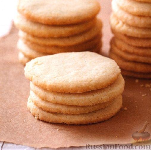 Рецепт Ванильное песочное печенье