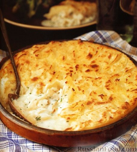 Рецепт Пирог из рыбы и картофеля