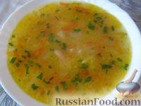 Фото к рецепту: Суп постный фасолевый
