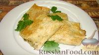 Фото к рецепту: Лаваш с сыром