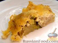 Фото к рецепту: Цветная капуста и брокколи, запеченные под сливочным соусом
