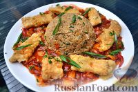 Фото к рецепту: Камбала по-азиатски