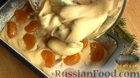 Фото приготовления рецепта: Рождественский кекс с мандаринами - шаг №8