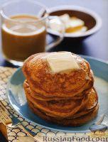 Фото к рецепту: Кофейные оладьи