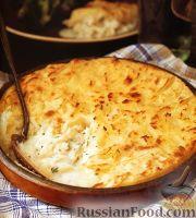 Фото к рецепту: Пирог из рыбы и картофеля