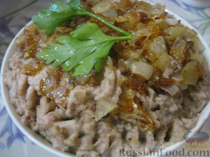 Рецепт Фасолевый цимес (паштет из фасоли)