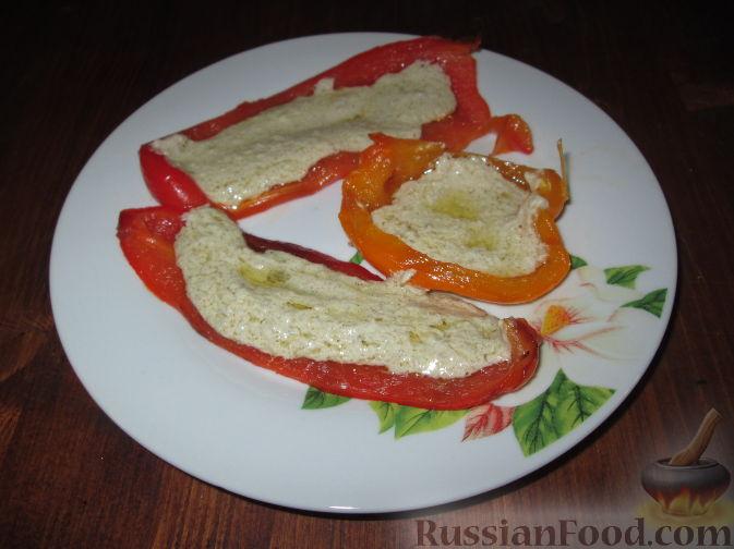 Рецепт Перцы с соусом из анчоусов (Bagna cauda)