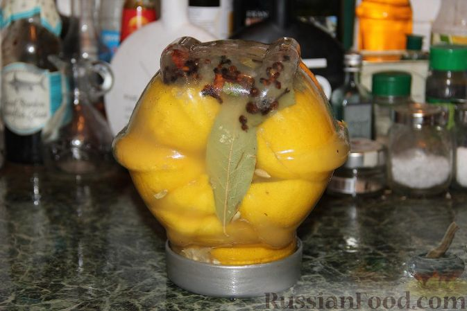 Рецепт Соленые лимоны