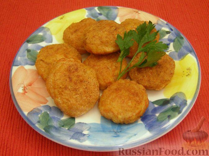 Рецепт Ароматные котлетки из курицы и сыра