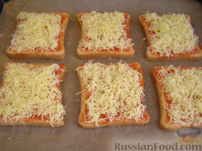 рецепт гренки с сыром в духовке рецепт