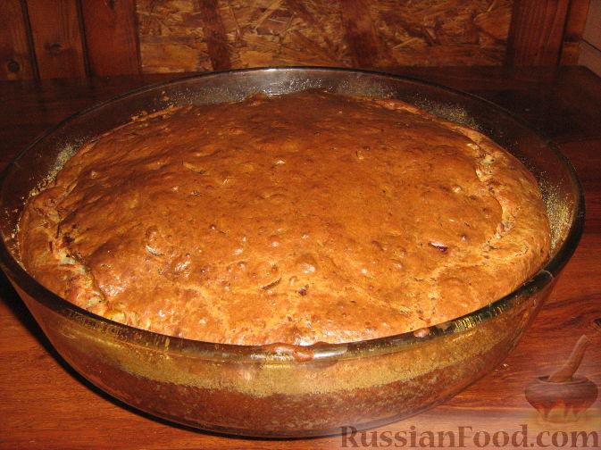 Рецепт Несладкий кекс-пирог с цуккини и беконом