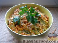 Фото приготовления рецепта: Салат «Обжорка» с курицей - шаг №13
