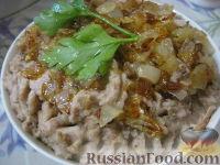 Фото к рецепту: Фасолевый цимес (паштет из фасоли)