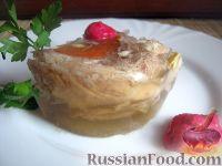 Фото к рецепту: Холодец из свиных ножек и курицы