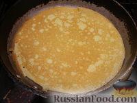 Фото приготовления рецепта: Особенно нежные блинчики - шаг №9