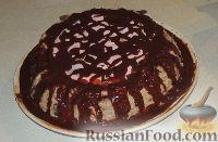 """Фото к рецепту: Торт бисквитный """"Ночка"""""""