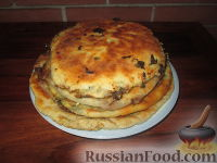 Фото к рецепту: А-ля осетинские пироги