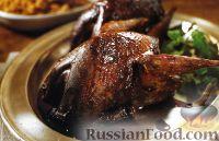 Фото к рецепту: Рябчики, жаренные в духовке