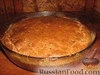 Фото к рецепту: Несладкий кекс-пирог с цуккини и беконом