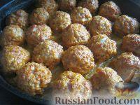 """Фото к рецепту: Тефтели с рисом """"Ёжики"""""""
