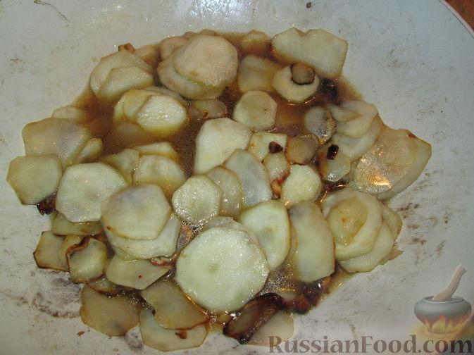 Фото приготовления рецепта: Гарнир из топинамбура - шаг №6