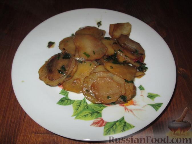 Фото приготовления рецепта: Гарнир из топинамбура - шаг №8
