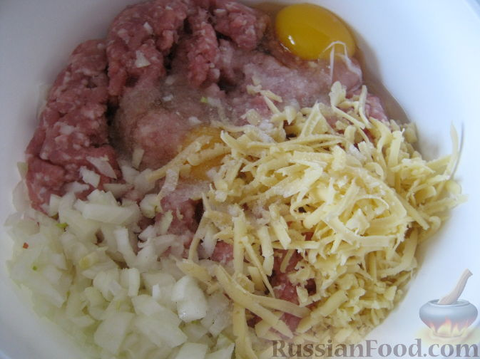 котлеты свиные с сыром рецепт с фото
