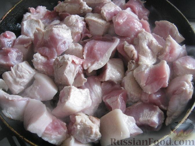 мясо с черносливом на сковороде рецепт с фото