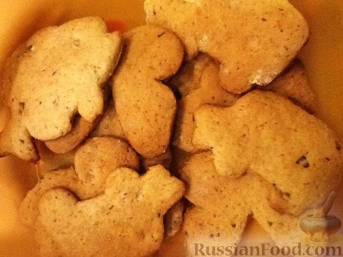 Рецепт Печенье из овсяных хлопьев с медом