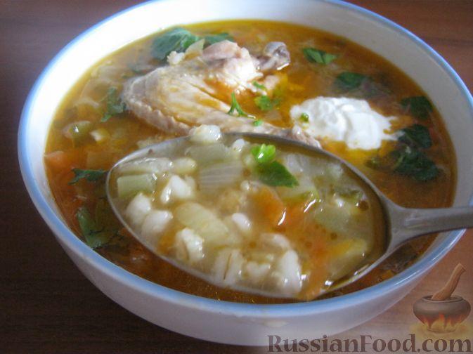 рецепт овощного супа с перловкой