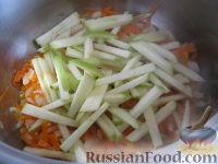 Фото приготовления рецепта: Лагман вегетарианский - шаг №8