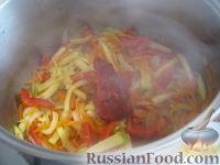Фото приготовления рецепта: Лагман вегетарианский - шаг №11