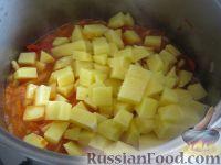 Фото приготовления рецепта: Лагман вегетарианский - шаг №13