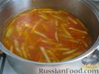 Фото приготовления рецепта: Лагман вегетарианский - шаг №14
