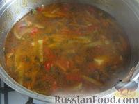 Фото приготовления рецепта: Лагман вегетарианский - шаг №18