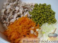 Фото приготовления рецепта: Салат «Купеческий» со свининой - шаг №9