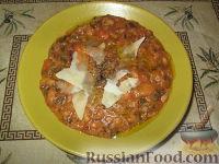 Фото к рецепту: Овощной суп-похлебка Риболлита (Ribollita)