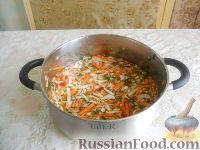 Фото к рецепту: Острая капуста в маринаде