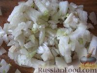 Фото приготовления рецепта: Жареные шампиньоны с луком - шаг №4