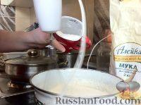 Фото приготовления рецепта: Кексы на кефире - шаг №7