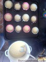 Фото приготовления рецепта: Кексы на кефире - шаг №11